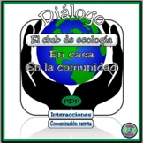 Ecology Club Bilingual Dialogue and Activities - El club de ecología