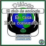 Ecology Club Bilingual Dialogue and Activities - El club de ecología