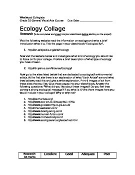 Ecology Collage
