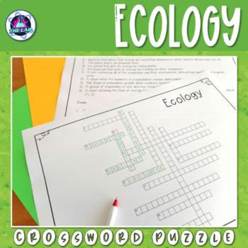 Ecology Crossword Puzzle
