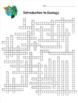 Ecology Crossword Puzzles