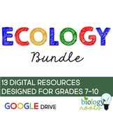 Ecology- Digital Bundle for Google Drive