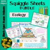 Ecology Squiggle Sheets Bundle