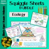 Ecology Squiggle Sheets (Notes) Bundle