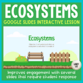 Ecology: Ecosystems PPT