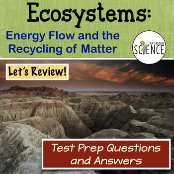 Ecology: Ecosystems Test Prep Questions
