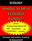 Ecology (Environmental Science) WHOLE YEAR Bundle