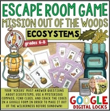 Ecosystems Ecology Escape Room Game Using Google Digital Locks