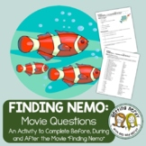 Finding Nemo Movie Questions - Distance Learning