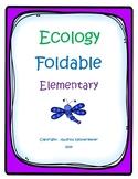 Ecology Foldable (Elementary Level)