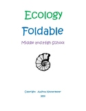 Ecology Foldable (Middle and High School Level)