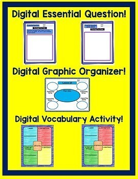 Ecology For Kids Journeys 4th Grade Unit 3 Google Digital Resource