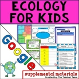 Ecology For Kids | Journeys 4th Grade Unit 3 Lesson 15 Google Activities