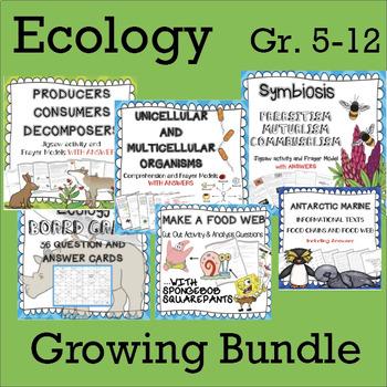 Ecology GROWING Bundle
