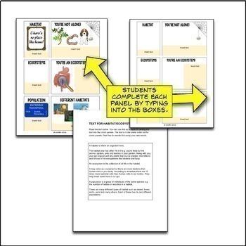 Ecology Google Drive Interactive Notebook