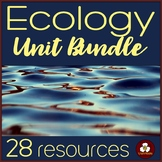 Ecology Unit Resources Bundle