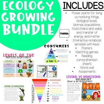 Ecology GROWING Bundle