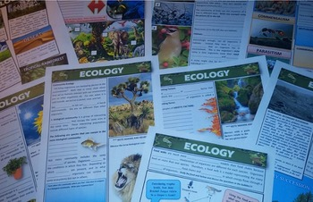 Ecology: Guided Note Packet
