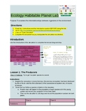 Ecology Habitable Planet Lab With Answer Key