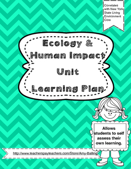 Ecology & Human Impact Learning Plan NY Biology (The Living Environment)