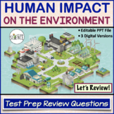 Ecology: Human Impact on the Environment Review Questions