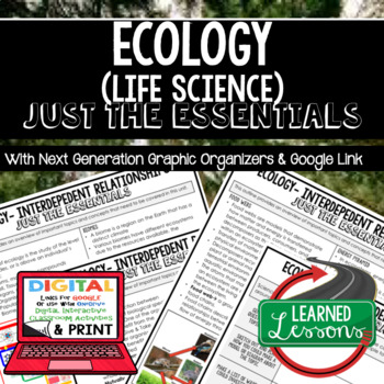 Ecology Just the Essentials Content Outlines Next Generation Science, Google