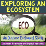 Ecology Lab:  Exploring an Ecosystem