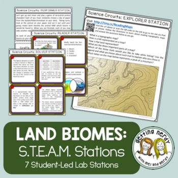 Ecology - Lab Stations - Land Biomes