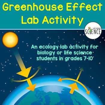 ecology lab the greenhouse effect by amy brown science tpt. Black Bedroom Furniture Sets. Home Design Ideas