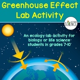 Ecology Lab:  The Greenhouse Effect