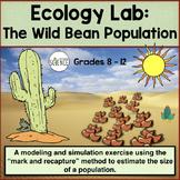 Ecology Lab: The Wild Bean Population - Estimating Population Size