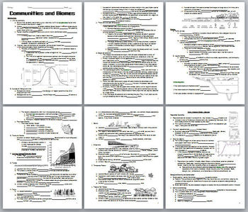 Ecology Lecture Notes Handouts