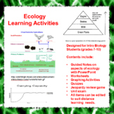 Ecology Lesson Activities