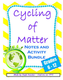 Ecology Lessons- Cyling of Matter Bundle  (Guided Notes &