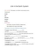 Ecology - Life in the earth system notes