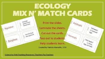 Ecology Mix N' Match Cards