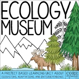 Ecology Museum Project Based Learning (PBL) Unit About Eco