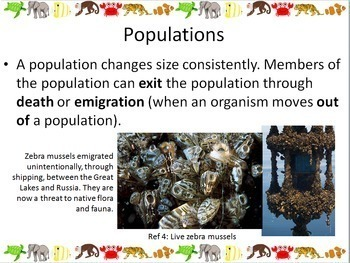 Ecology: Populations Powerpoint Slide Show