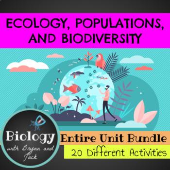 Ecology, Populations and Biodiversity Bundle