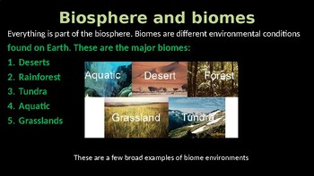Ecology Power Point Biology