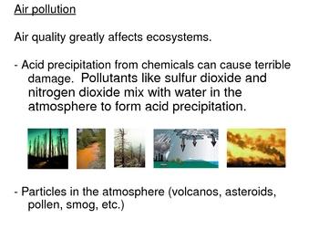 Ecology PowerPoint Presentation Unit 3 (of 3 unit presentations)