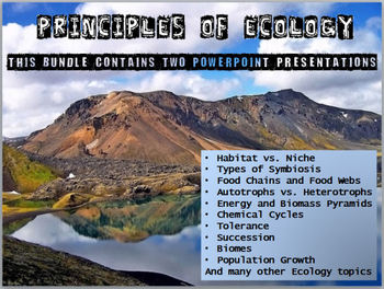 Ecology PowerPoint Presentations