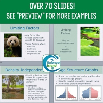 Ecology PowerPoint and Notes: Populations and Communities