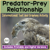 Predator Prey Reading and Graphing | Printable and Digital Distance Learning