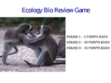 Ecology Review Game over Symbiosis and Energy Transfer