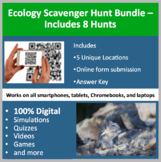 Ecology Scavenger Hunt Collection – A Digital Scavenger Hunt Activity