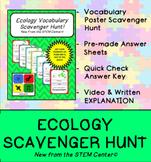 Ecology Scavenger Hunt Game