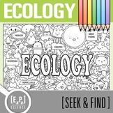 Ecology Seek & Find Doodle Page