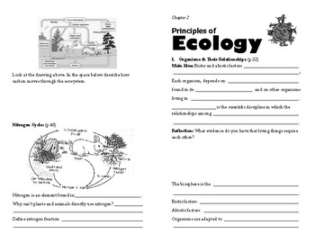 Ecology Self-Guided Booklet
