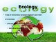 Ecology Slideshow for College Prep Biology